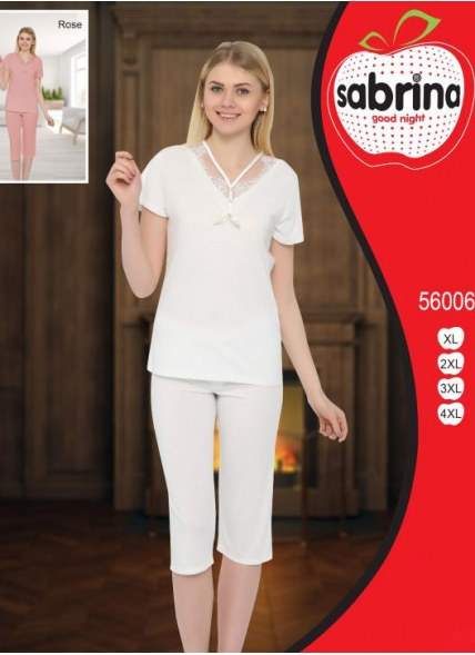 Комплект с Капри (XL+XXL+3XL+4XL) Sabrina
