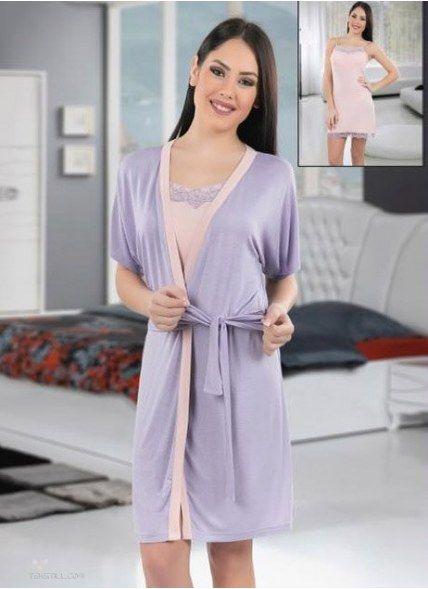 Халат + Ночная Рубашка Комплект 2-ка (S+M+L+XL) COCOON