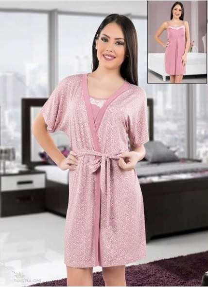 Халат + Ночная Рубашка Комплект 2-ка (S+M+L+XL) COCOON Secret