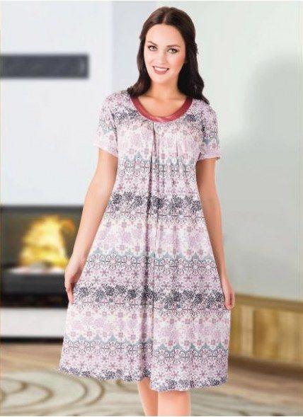 Домашнее платье оптом с Турции Кокоон