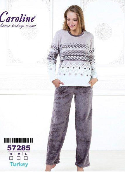 Пижама Комплект с Брюками 2-КА (S+M+L) Caroline