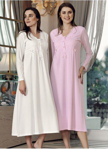 Ночная Сорочка - Рубашка MODAL (S+M+L+XL) Free Angel