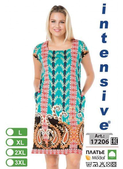 Платье (L+XL+2XL+3XL) intensive