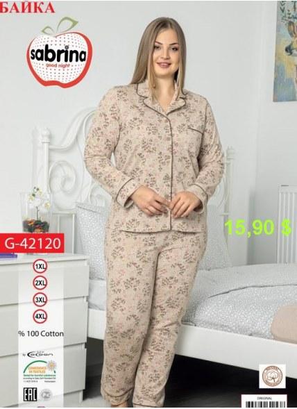 Ночная Сорочка (1XL+2XL+3XL+4XL) Sabrina