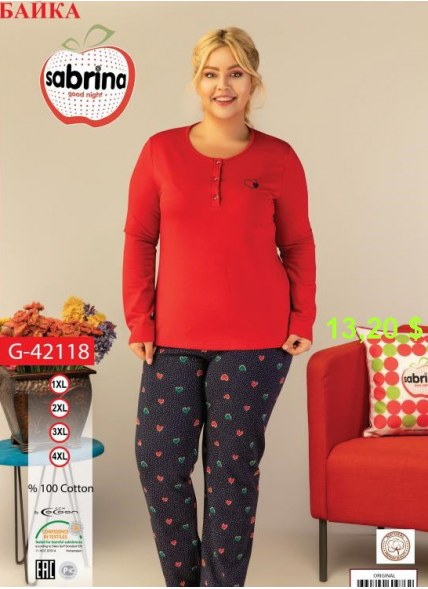 Комплект с Брюками (XL+XXL+3XL+4XL) Sabrina