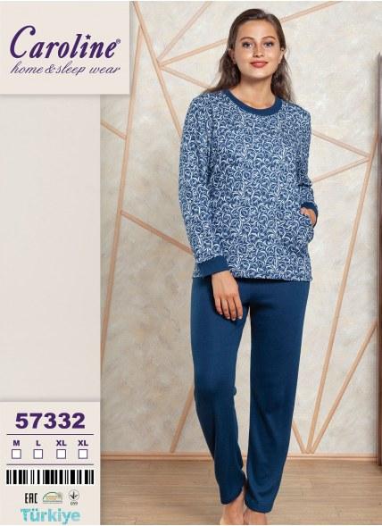Пижама Комплект с Брюками 2-КА (M+L+XL+XL) Caroline