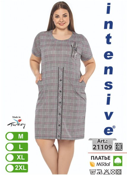 Платье MODAL (M+L+XL+2XL) intensive