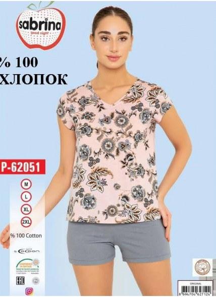 Комплект Женский с Шортами (M+L+XL+XXL) SABRINA