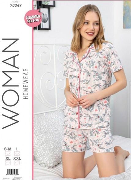 Женский Комплект с Шортами (SM+L+XL+XXL) POLAT YILDIZ