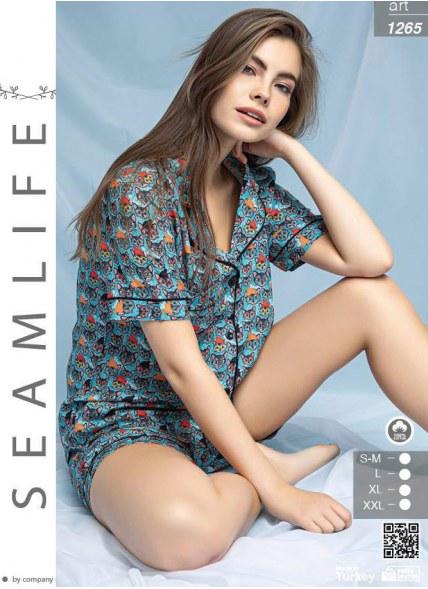 Комплект с Шортами (SM+L+XL+XXL) SEAMILIFE