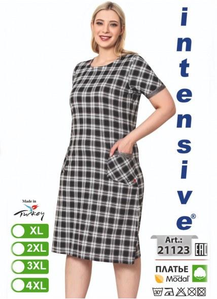 Платье MODAL (XL+2XL+3XL+4XL) intensive