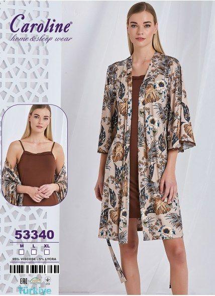 Халат + Сорочка 2-КА (M+L+XL) Caroline